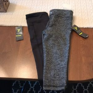 2 pairs of Old Navy Active Capris